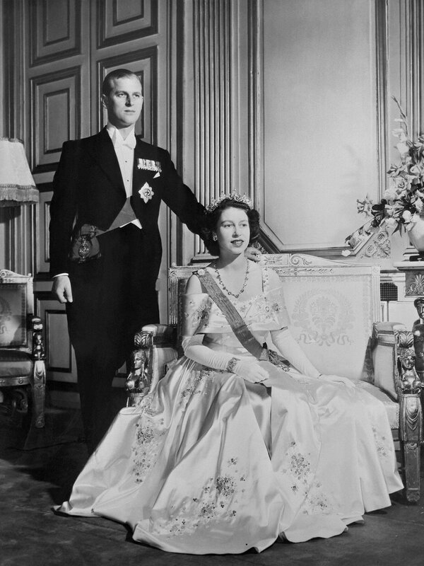 Princess Elizabeth II England Philip Duke Edinburgh