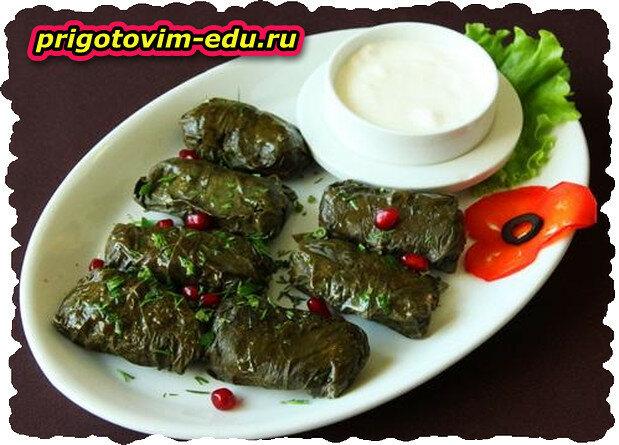 Толма - самое популярное и вкусное армянское блюдо