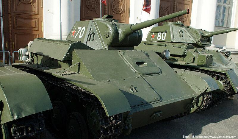 39. Манеж. 08.05.15.Легкий танк Т-70..jpg