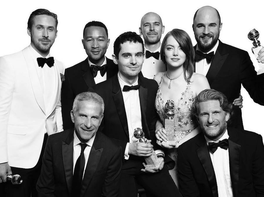 The cast of La La Land