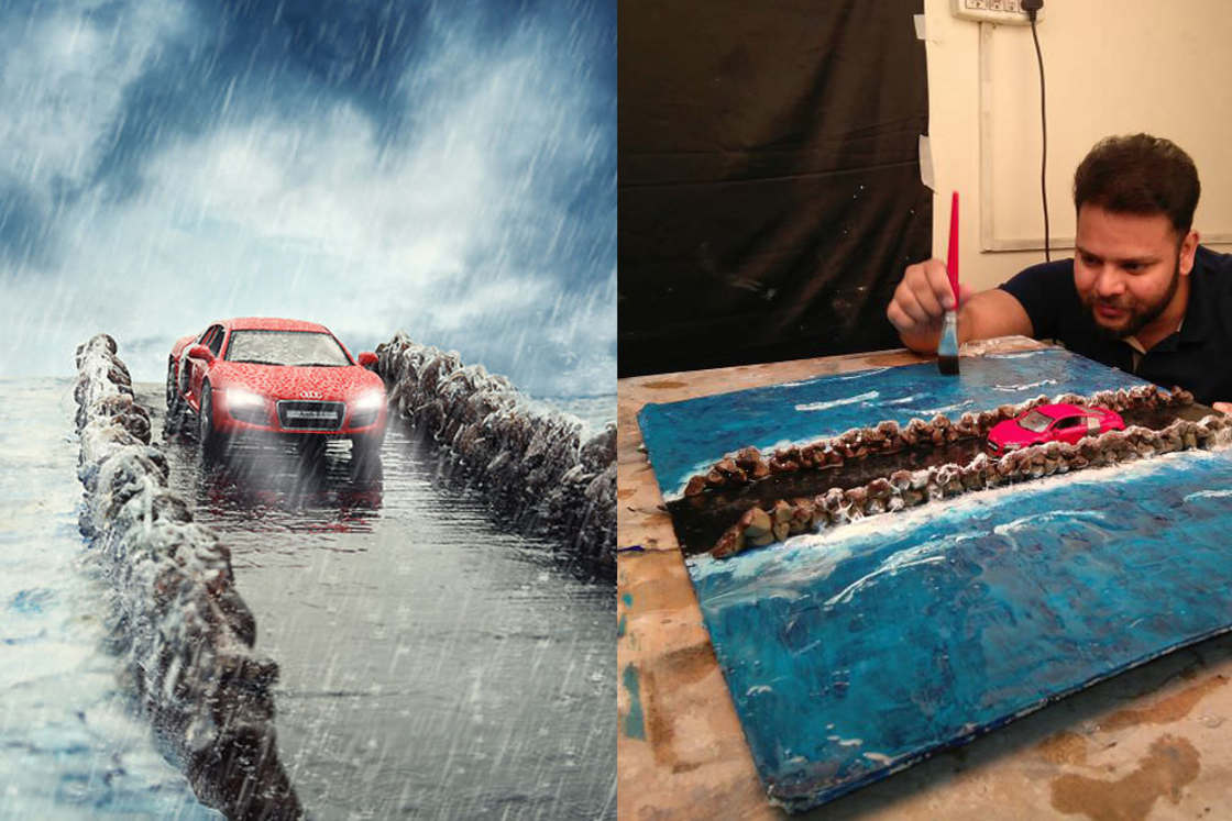 Photographing miniature cars rather than real cars (23 pics)