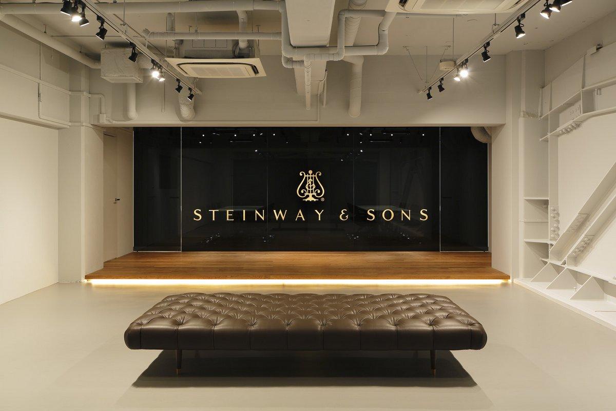 Шоурум Steinway & Sons в Токио