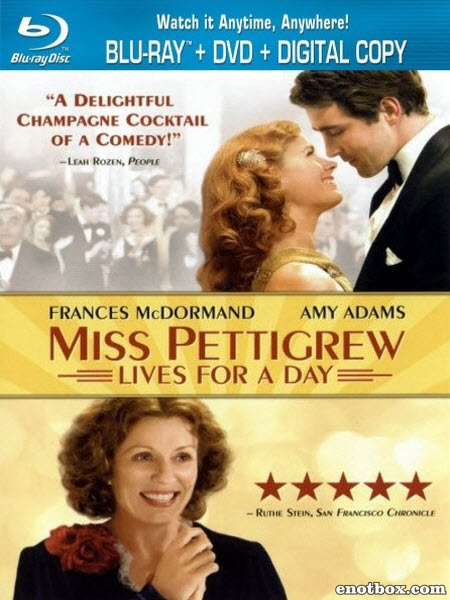 Мисс Петтигрю / Miss Pettigrew Lives for a Day (2007/BDRip/HDRip)