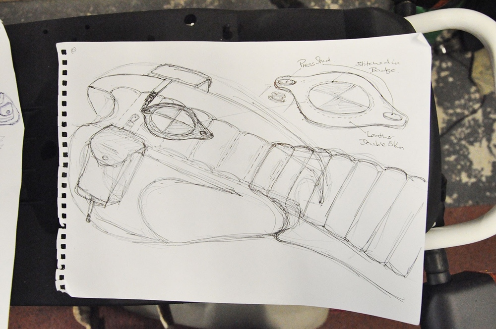 Дункан Эванс: кастом BMW R65