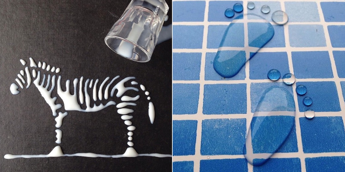 Stunning Artworks Made from Liquids (10 pics)