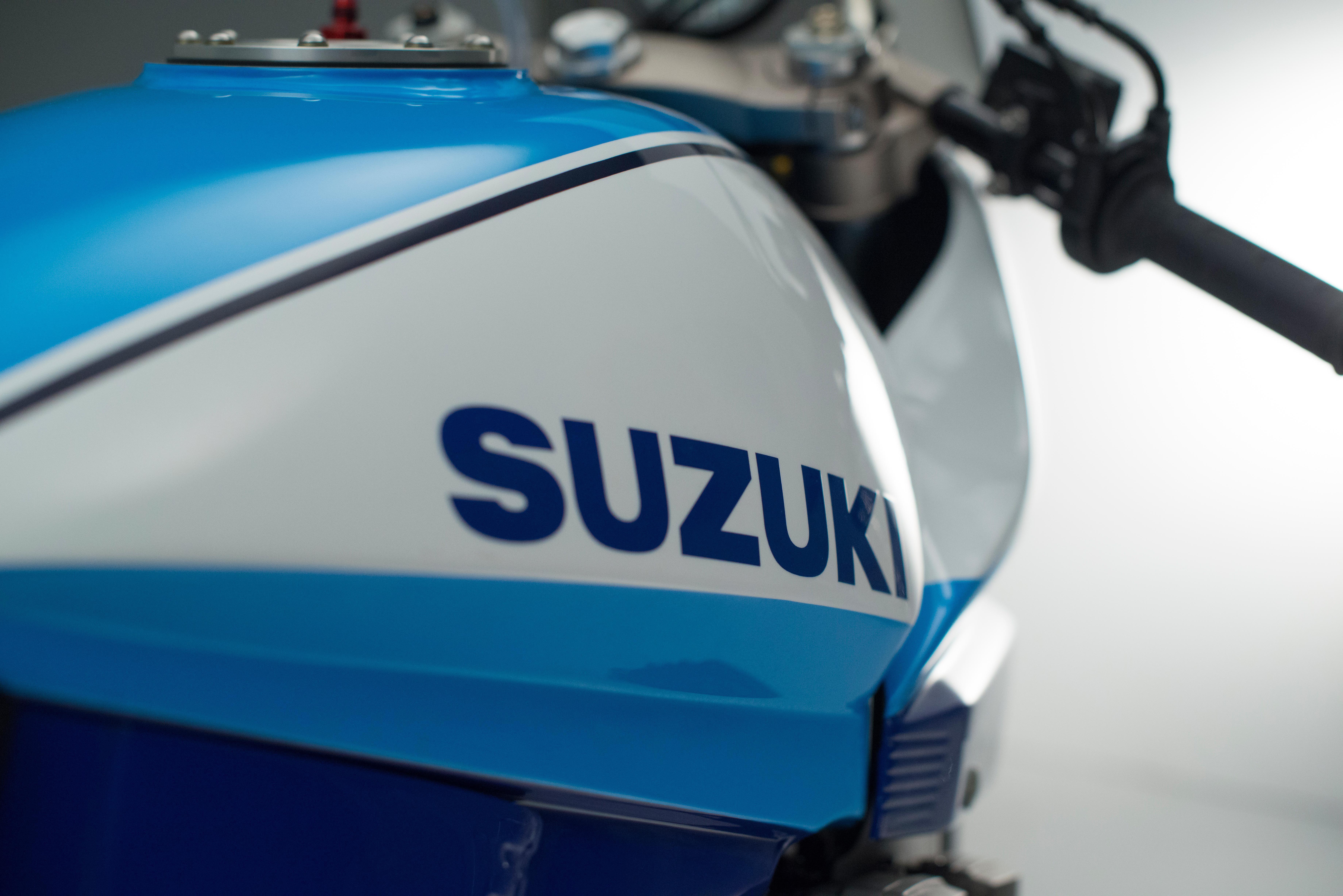 Гоночный байк Suzuki GSX1000SD Katana #7