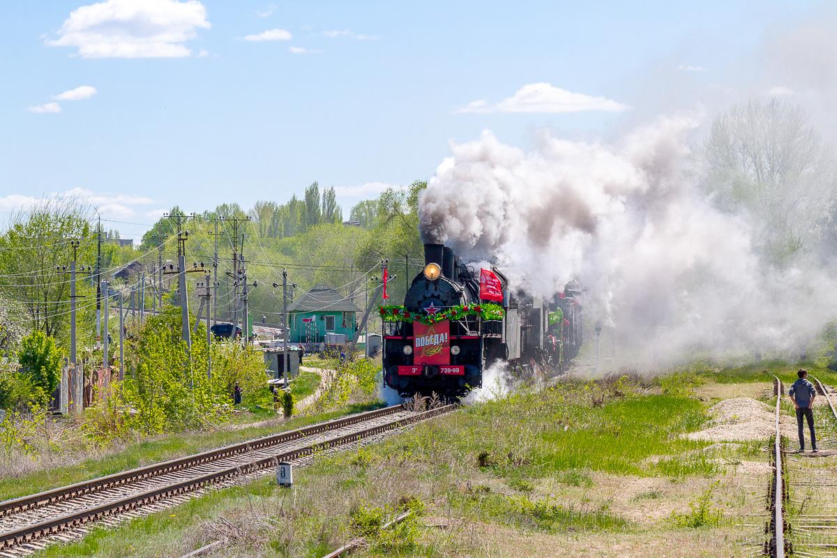 Ретро-поезд Победа фото 4