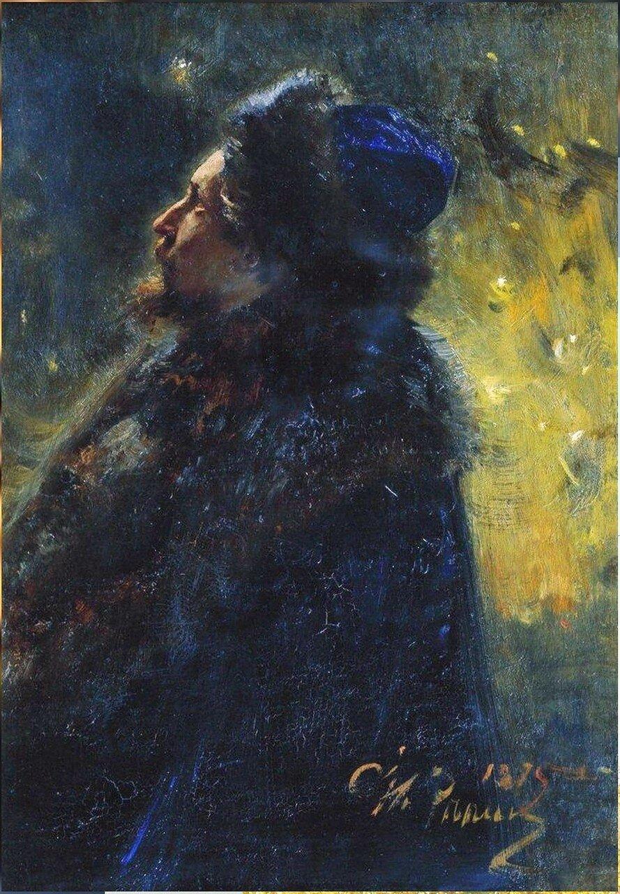 Виктор Михайлович Васнецов. 1875. Русский художник Илья Ефимович Репин.jpg