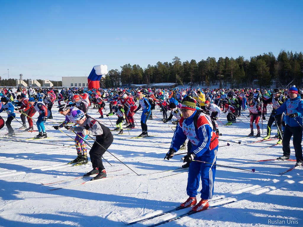 Лыжня дружбы 2017