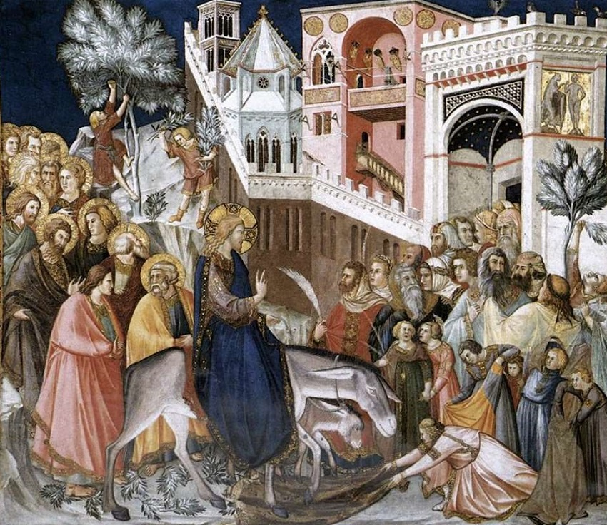 Вход Господень в Иерусалим. Пьетро Лоренцетти.jpg