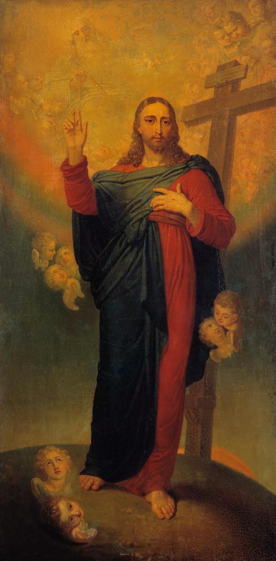Спаситель. 1814-1815 Государственная Третьяковская галерея, Москва
