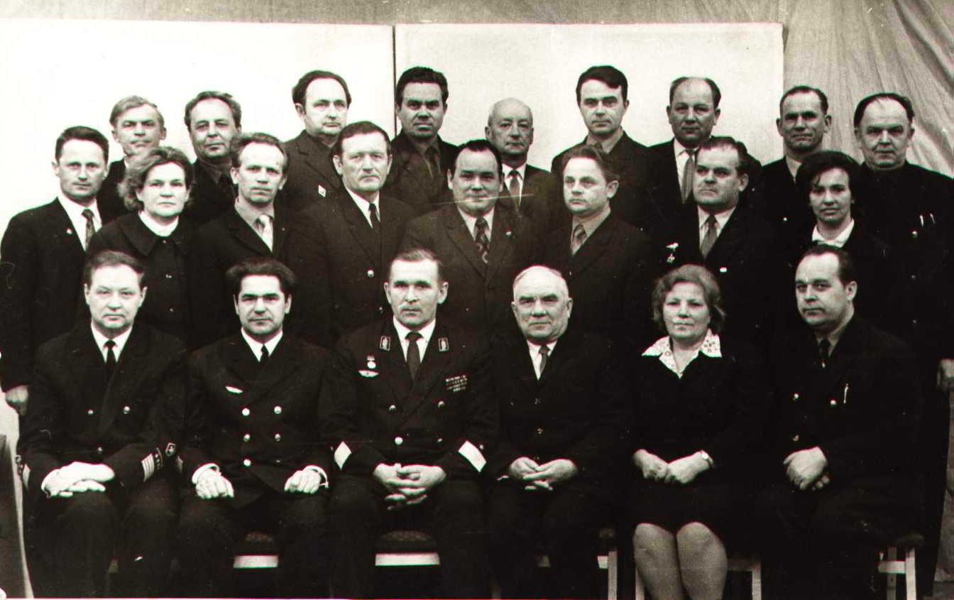 1973. Руководство Псковского отделения Октябрьской железной дороги