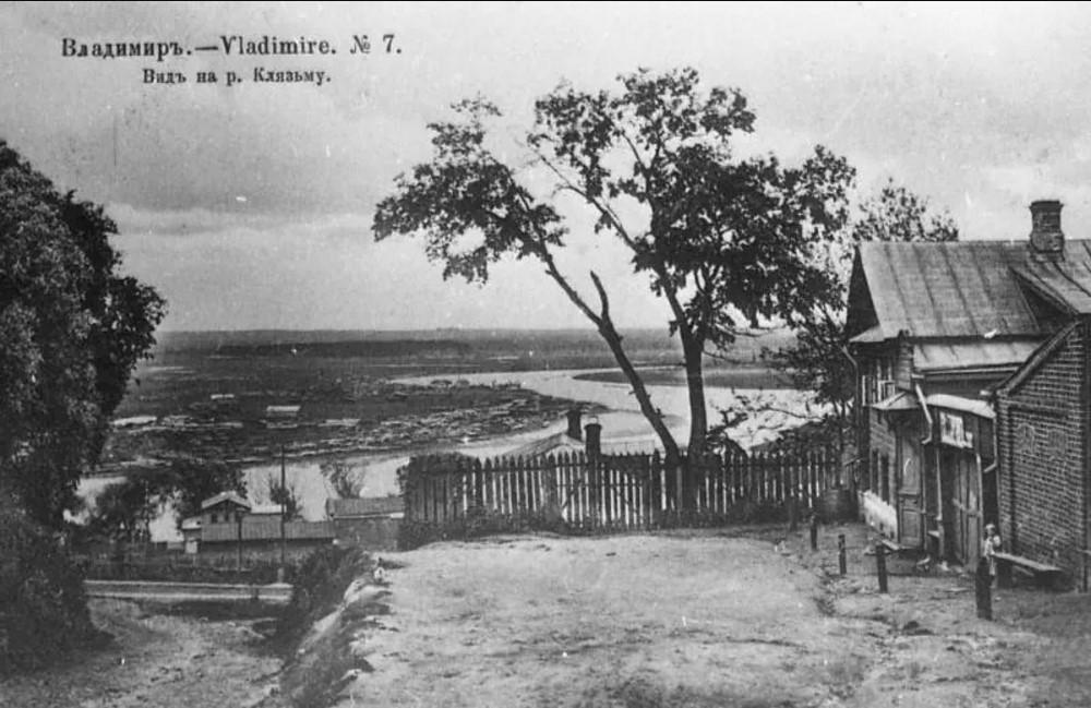 Вид на реку Клязьма от церкви Николы в Галеях