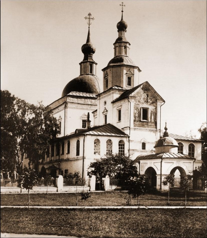 Храм Святых Отцов Семи Вселенских Соборов.1882