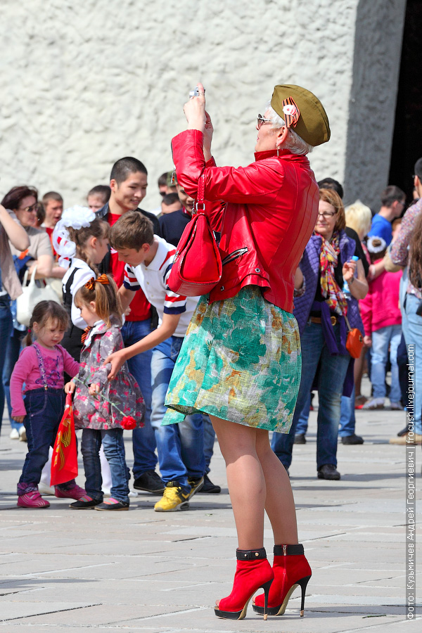 Мамаев курган 9 мая в Волгограде