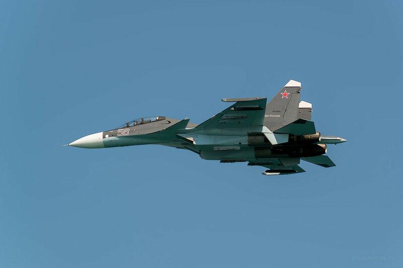 Сухой Су-30СМ (RF-93666 / 56 синий) D807509