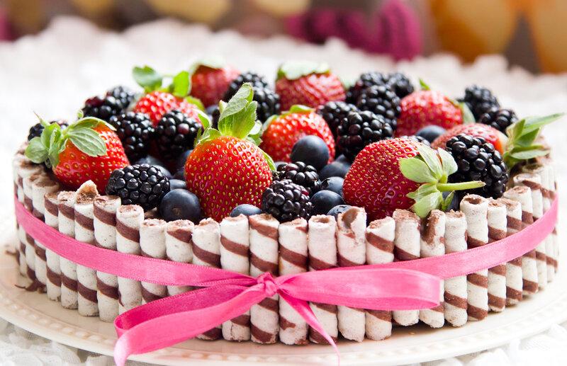 с днём рождения тортик фото