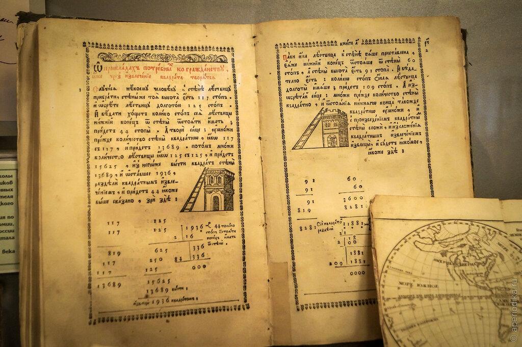 Коллекция редких книг воронежского областного краеведческого музея