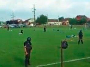 Взяли преступника прямо на футбольном поле