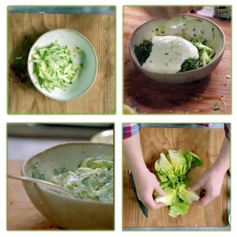 Салат к мидиям