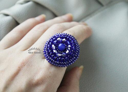 """Кольцо """"Deep blue"""""""