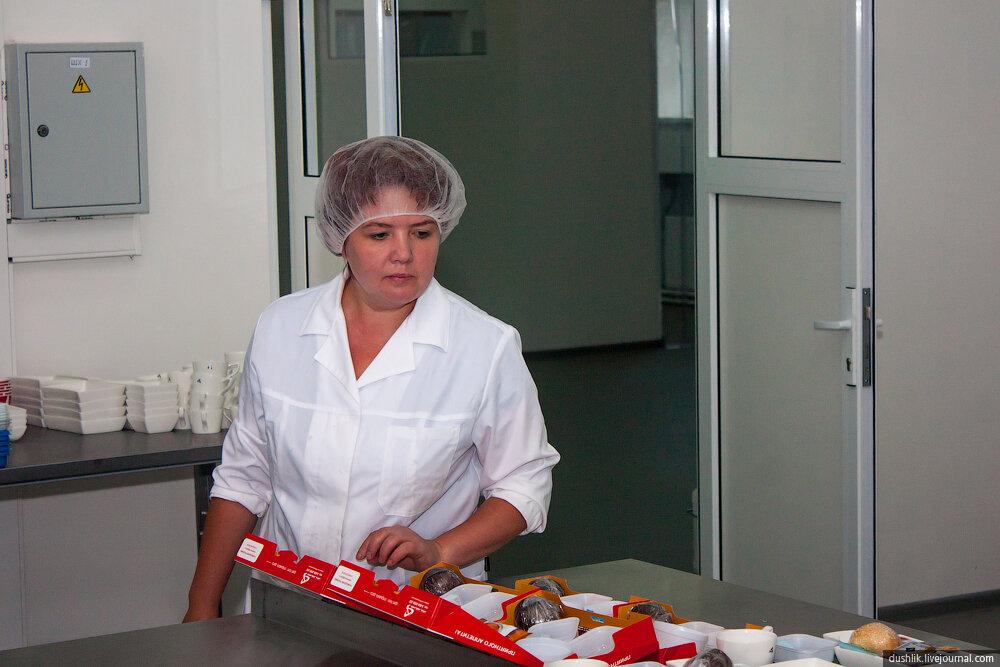 Цех бортового питания Челябинского аэропорта