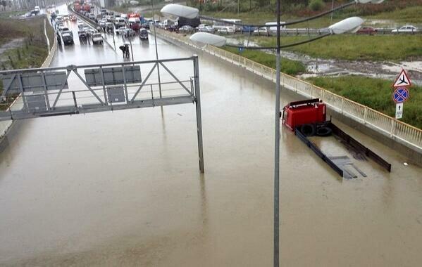 В Сочи наводнение