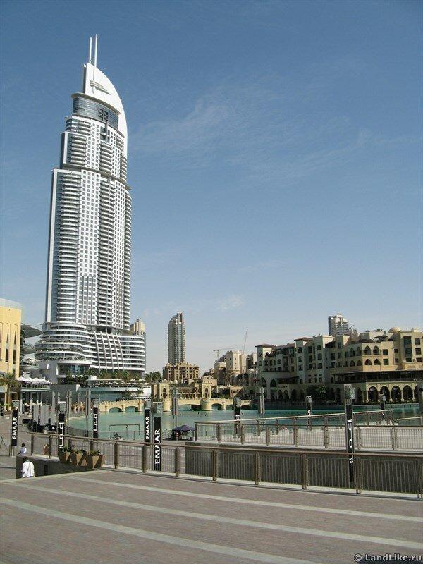 Отель The Address Downtown Dubai