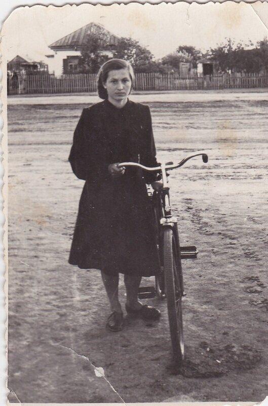 велосипедисты 1955 год.