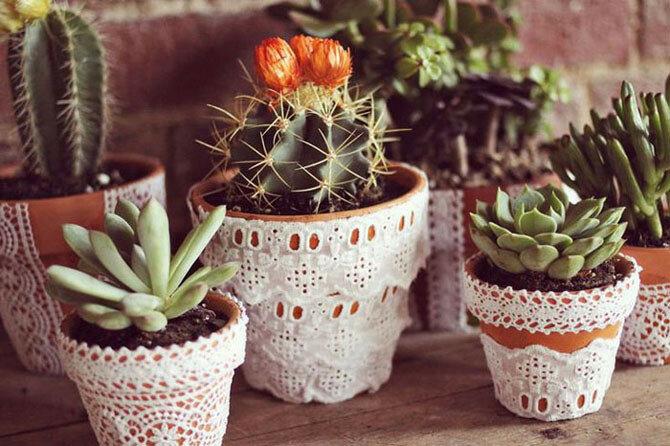 15 элегантных способов декора с помощью кружев