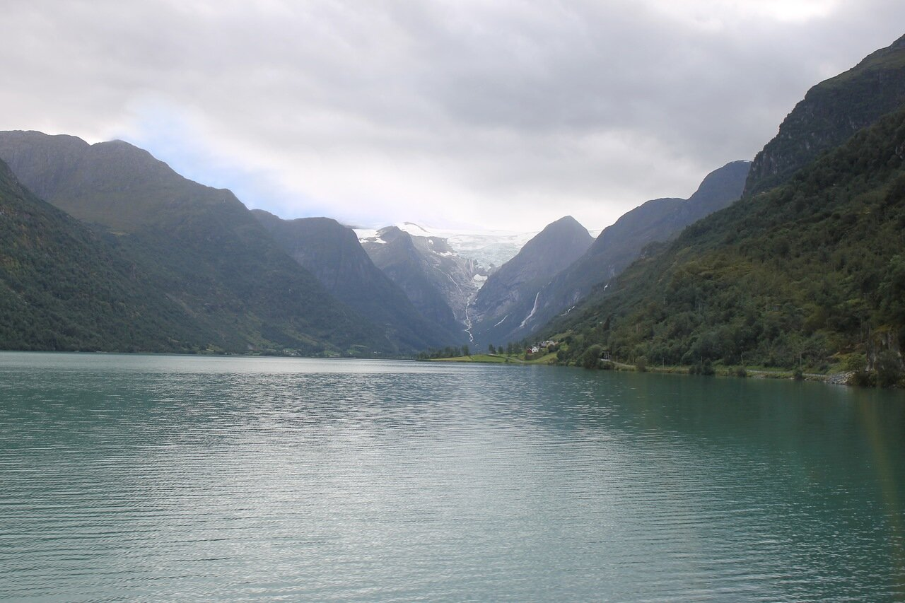 Озеро Олдеватнет