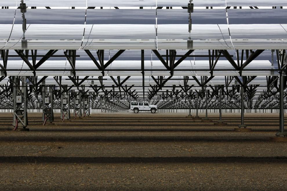 8. Кстати, Андасол — первая в Европе промышленная солнечная тепловая электростанция с параболическим