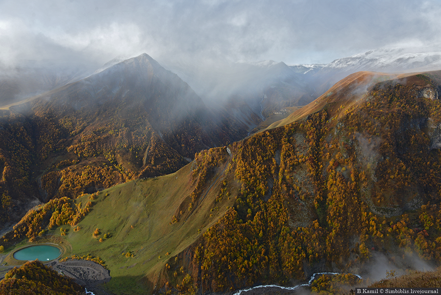 Осень на Крестовом перевале