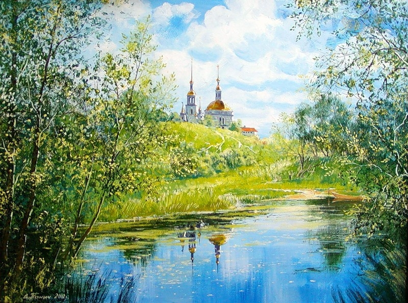 Чудесные пейзажи Владимира Панича.