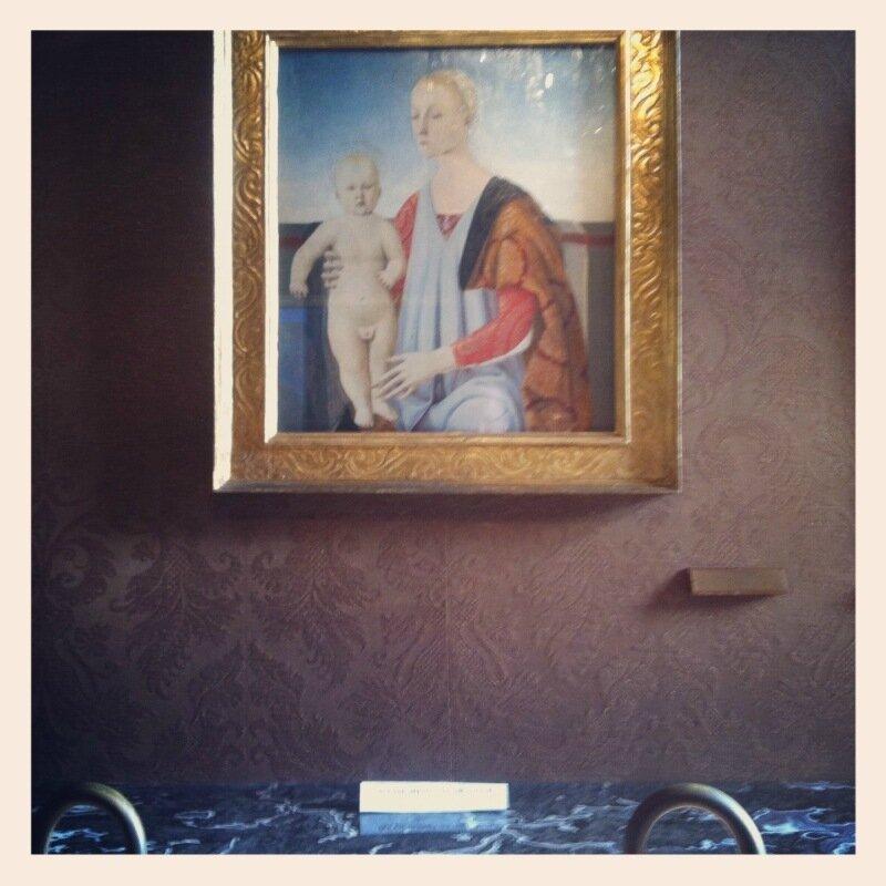 Петро делла Франческо в паллацо Чини