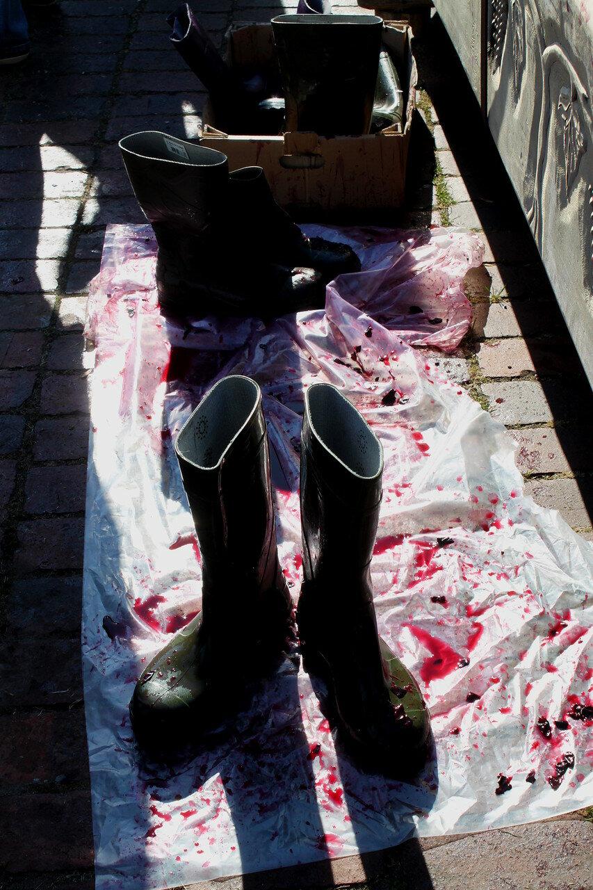 Обувь давильщиков