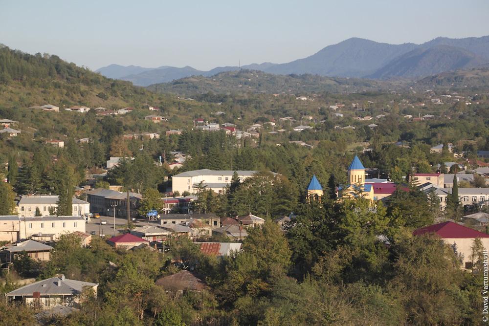 Грузия, городище Вани