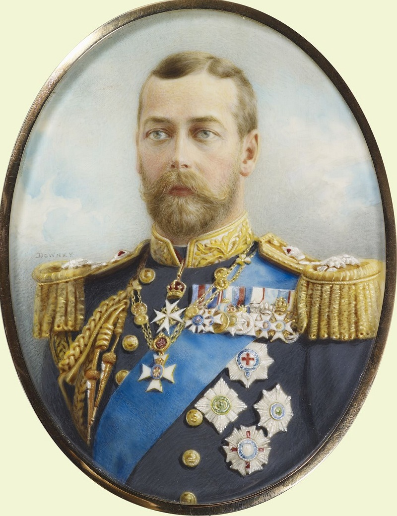 William & Daniel Downey (active 1860-early 1900s)George V (1865-1936) when Prince of Wales  c. 1905-10