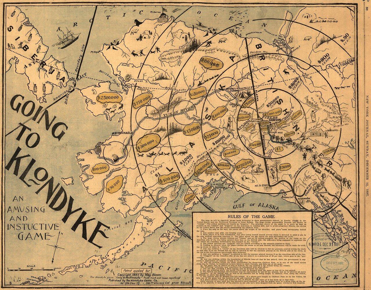 1897. Игра «Отправляемся на Клондайк»