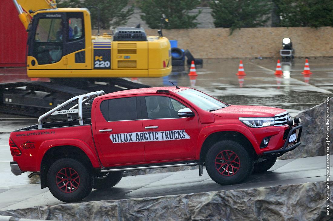 арктическая версия Toyota Hilux