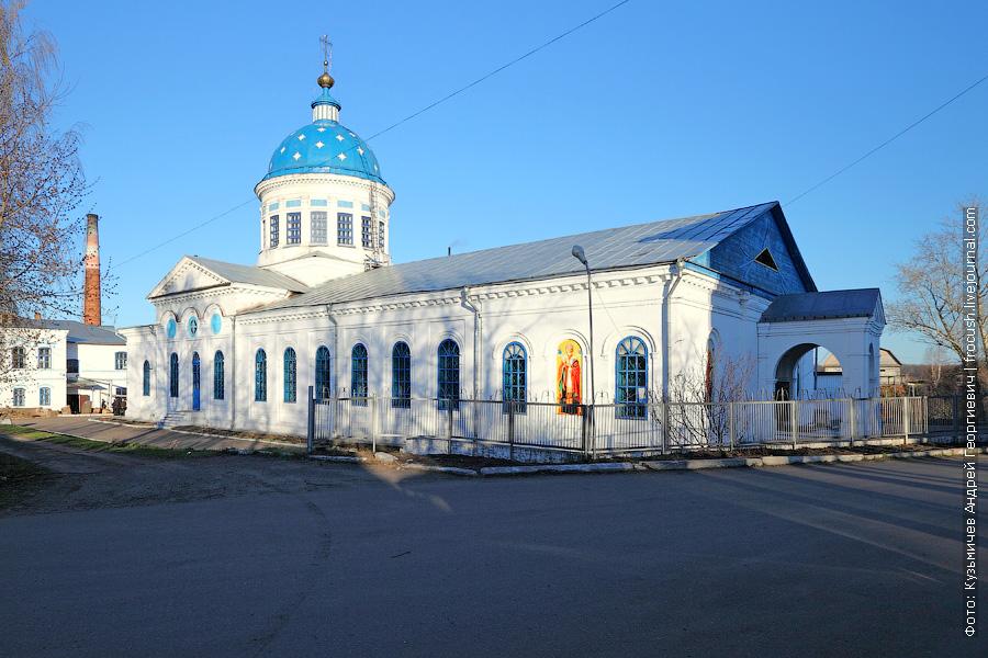 Никольский храм города Котельнича Кировской области