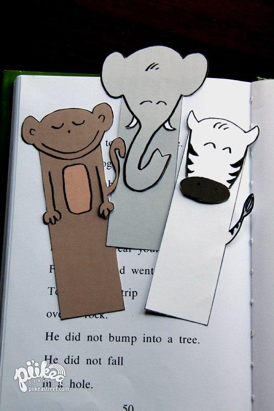 Закладка для книг обезьянка своими руками