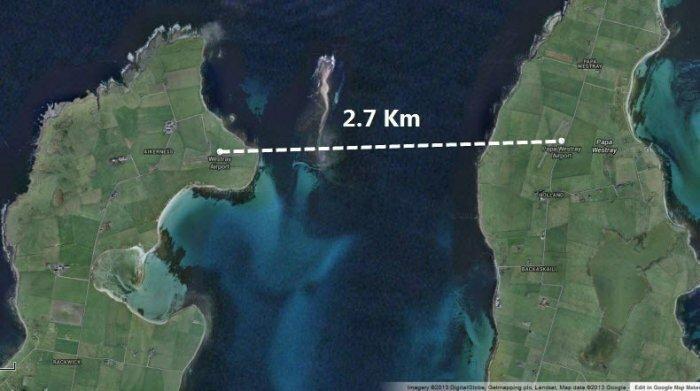 Самый короткий авиарейс продолжительностью 47 секунд… (5 фото + видео)