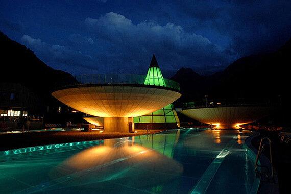 Термальный курорт Aqua Dome (13 фото)