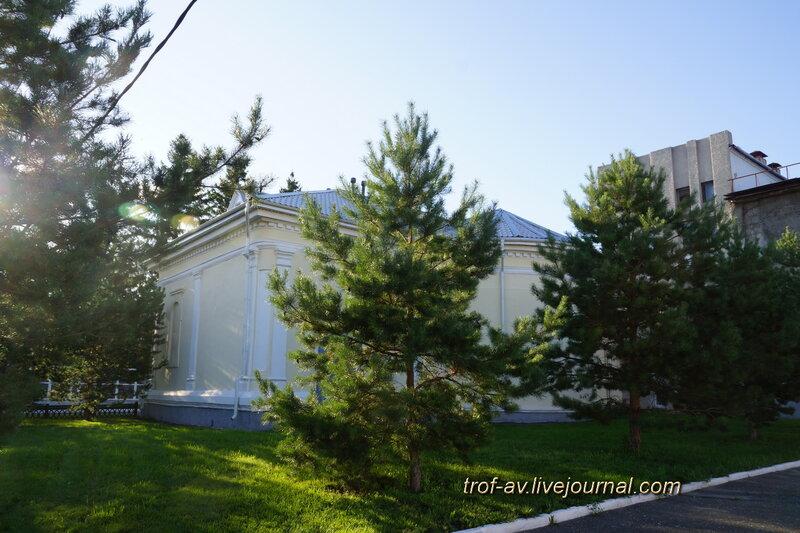 Бывшая лютеранская кирха, 1792г. (музей МВД), Омск