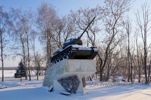 т-34-85, д.Наро-Осаново