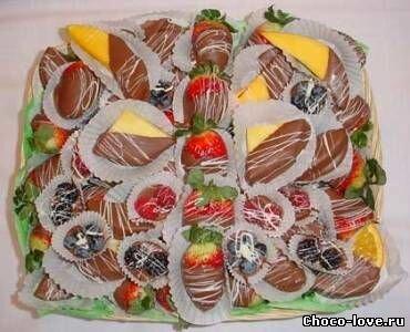 Фрукты и ягоды в глазури и карамели: рецепты и идеи