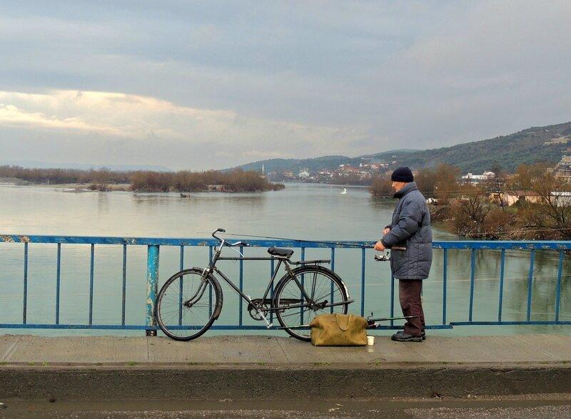 Албания в январе, г Шкодер