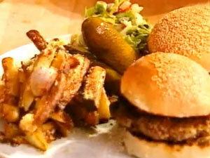 Рецепт гамбургера, приготовленного Джейми Оливером