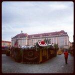 Дрезден. Ярмарка после Рождества